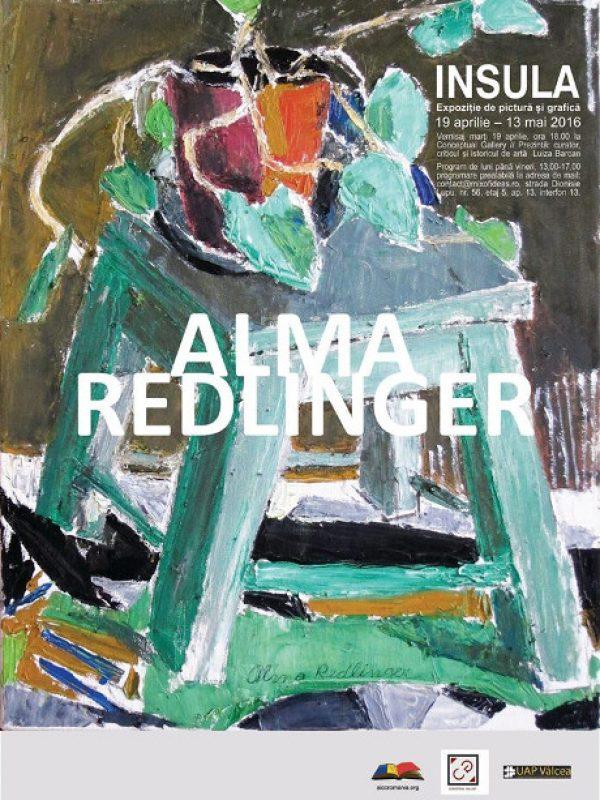 """Alma Redlinger – Expozitia personala pictura si grafica """"INSULA"""""""