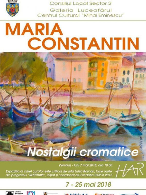 Maria Constantin – Nostalgii cromatice