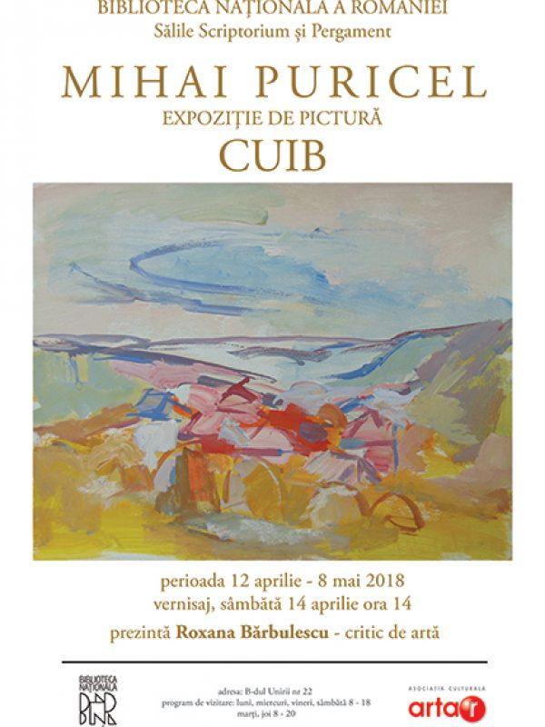Mihai Puricel – CUIB – expoziție de pictură