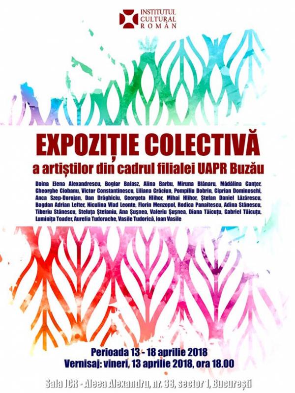 """Expoziție omagială """"Filiala Buzău 50"""" în Sala Mare a Institutului Cultural Român"""