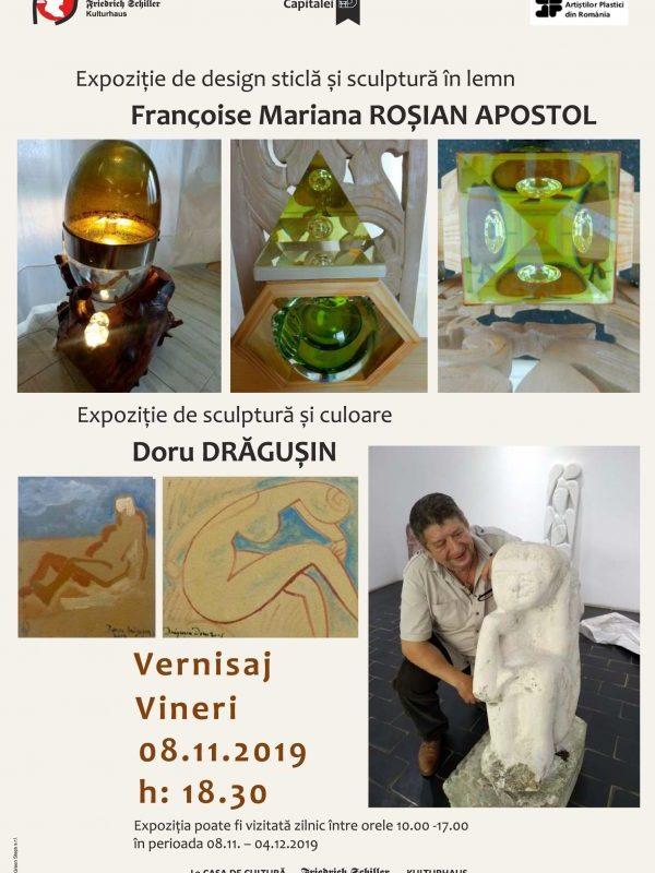 Expoziție de design, sculptură și culoare