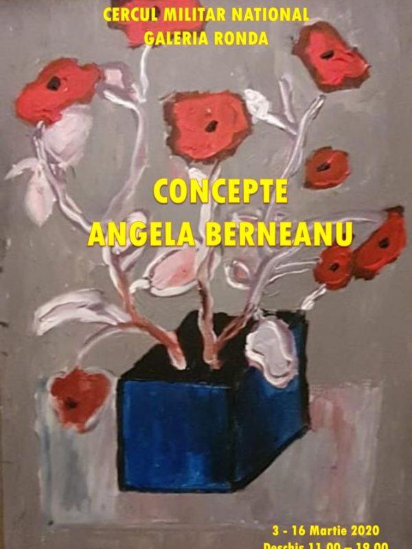 """Expoziție de pictură """"Concepte"""" a artistului plastic Angela Berneanu"""